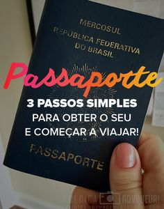 Um sonho, um plano, uma viagem, começa a se concretizar quando você dá o primeiro passo. E se o seu sonho é viajar para os Estados Unidos, o primeiro passo, antes de mais de mais nada, é providenciar seu passaporte.