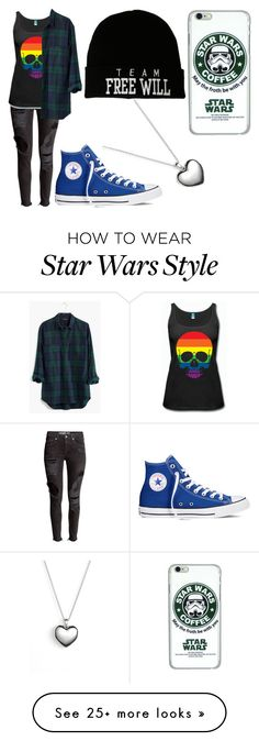 """Clara"" by castielsimpala67 on Polyvore featuring moda, Madewell, Converse, Pandora, women's clothing, women, female, woman, misses e juniors"