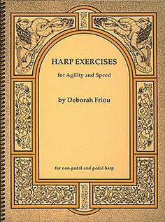 Harp Exercises For Speed And Agility For Non-Pedal & Peda...