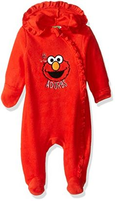 Sesame Street Baby Girls Outwear Pram Red 36 Months * Check out the image by visiting the link.Note:It is affiliate link to Amazon.