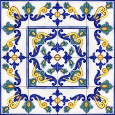 Pavimenti di Caltagirone - Piastrelle cm - Catalogo on-line CEAR Srl Ceramic Wall Tiles, Tile Art, Mosaic Tiles, Tile Patterns, Textures Patterns, Print Patterns, Der Plan, Italian Tiles, Tuile