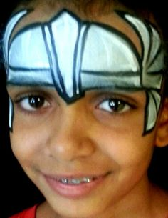 Thor face painting
