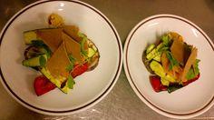 carpaccio di melanzane con zucca marinata e sfoglie integrali - piatto GIFT http://www.cadelach.it/i-ristoranti/punto-gift.php