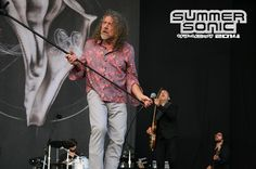 Robert Plant & The Sensational Space Shifters   Summer Sonic   Osaka   Japan   16-17/08/2014   pinned by Cormael Lia