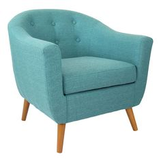 Rockwall Accent Chair - Teal