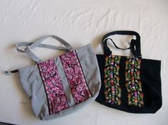 Embroidered purses that comes in all colors to fit any need