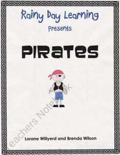 Pirates from RainyDayLearning on TeachersNotebook.com (27 pages)