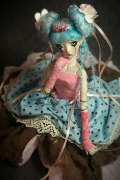 One of a Kind Porcelain BJD Dolls by Forgotten Hearts