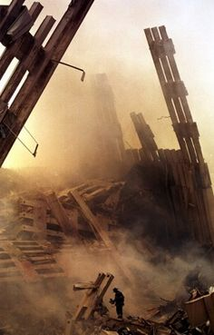 September 2001 Ground Zero - people were killed at the World Trade Center; 60 passengers & 5 hijackers on United Flight 87 passengers and 5 hijackers on American Flight 11 September 2001, Remembering September 11th, We Will Never Forget, Lest We Forget, Us History, American History, Real Life Heros, Day Of Infamy, Fire Dept