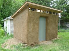 Step by step how to build straw bale shed