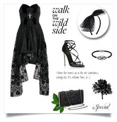 """""""dress"""" by the-blueglasses ❤ liked on Polyvore featuring Dolce&Gabbana, New Look and Jewel Exclusive"""
