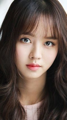 Bob Hairstyles 2018, Hairstyles With Bangs, Korean Actresses, Korean Actors, Korean Beauty, Asian Beauty, Kim So Hyun Fashion, Kim Sohyun, Kim Yoo Jung