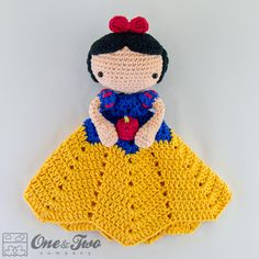 We continue our Amigurumi doll shares without slowing down. In this article I am going to share with you amigurumi crochet toy patterns. Crochet Security Blanket, Crochet Lovey, Crochet Blanket Patterns, Love Crochet, Baby Blanket Crochet, Crochet For Kids, Diy Crochet, Crochet Crafts, Crochet Dolls