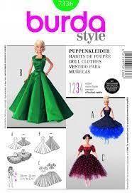 Bildresultat för free barbie clothes patterns printable