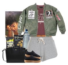 """Gave you portion but you needed more"" by jemilaa ❤ liked on Polyvore featuring Topshop, New Look, Lacoste, Puma and Sarah Chloe"