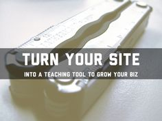 Turn your site into a teaching tool to grow your biz - A Haiku Deck by Spencer Smith Free Presentation Software, Spencer Smith, Teaching Tools, Haiku, Case Study, Deck, Business, Teacher Tools, Front Porches