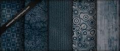 Midnight Blue Grunge Patterns by WebTreatsETC.deviantart.com on @deviantART