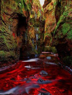 Blood River, Devil's Pulpit, Gartness, Scotland: