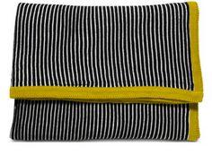 Bo Concept Black White Yellow Blanket: NEED!!!!