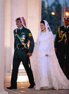 Jordan:  Prince Hamzah and Princess Noor : The Bride: Princess Noor bint Asem bin Nayef, second cousin of the groom.  The Groom: Prince Hamzeh, former crown prince of Jordan and son of American-born Queen Noor al-Husseein.  When: Aug. 29, 2003. But the official wedding celebrations were held on May 27, 2004  Where: Amman, Jordan.