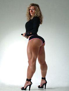 Muscular Absolute Woman with thick legs. White Girls, White Women, Sexy Women, Tall Women, Curvy Women, Big Legs, Sexy Legs, Divas, Thighs Women