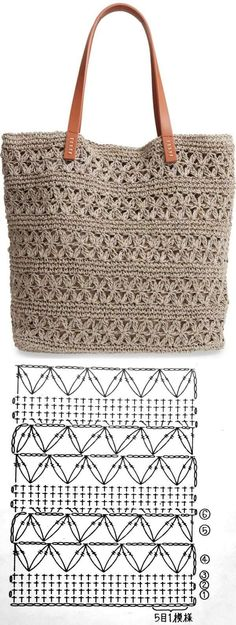 Crochet handbags 624241198338488036 - Bolsa de crochê Summer Bag ⋆ De Frente Para O Mar, Source by acapgui Crochet Handbags, Crochet Purses, Crochet Lace, Crochet Stitches, Crochet Hooks, Crochet Patterns, Crochet Summer, Knitting Patterns, Crochet Crafts