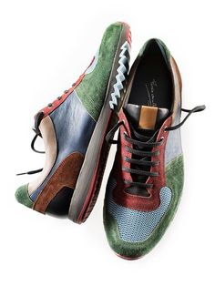 Shoe Box, Leather Sneakers, Men's Shoes, Trainers, Footwear, Belt, Sporty Chic, Mens Fashion, Running