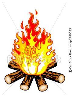 Campfire tattoo