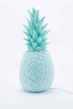 Goodnight Light Pineapple Lamp UK Plug in Blue