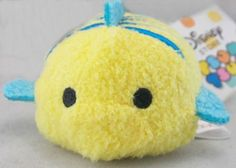 Disney Tsum Tsum Little Mermaid Flounder (Import)....these little guys are so stinking cute! I want them all!