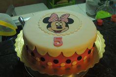 Minnie cake / Torta de Minnie