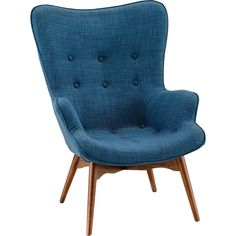 Replica Featherston Chair Mid Blue - New Arrivals | Early Settler Furniture