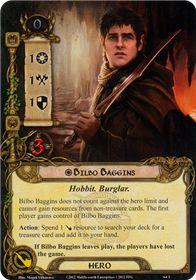 Bilbo Baggins (Fellowship) card lotr lcg