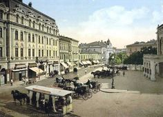 Romania Photo: old Bucharest, Romania - capital city Europe Old Pictures, Old Photos, Little Paris, Bucharest Romania, National Theatre, Europe Photos, City Architecture, Old Postcards, Best Cities