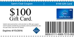 Get your card - (1) per person
