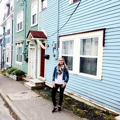|| Street style for a day of exploration in downtown St. John's NL [A] #OUTINON #JellyBeanRow