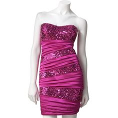 Speechless Sequined Pleated Tube Dress and other apparel, accessories and trends. Browse and shop 1 related looks.
