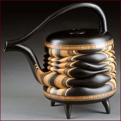 Del Mano Gallery Hot Tea! 2015 - An Exhibition of Art Teapots Terry Evens