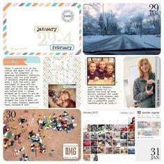 wonderful digital Project Life from @Jennifer Hignite