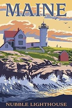 Preview Nubble Lighthouse - York by TopDinningTools