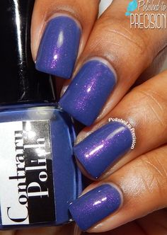 Polished to Precision: Contrary Polish: 18th & Vine and Gift Wrap