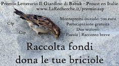 Dona le tue briciole, comunicazione di Redazione LaRecherche.it [Eventi] :: LaRecherche.it