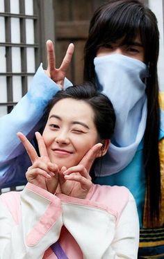 Ah ro and ji dwi rang This is so cute omg