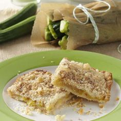 Zucchini Cobbler Recipe from Taste of Home -- shared by Joanne Fazio of Carbondale, Pennsylvania