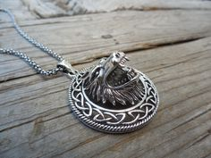 Outrageous Werewolf necklace handmade in sterling silver by Billyrebs on Etsy