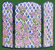 Sweet, innocent and full of hope, these beautiful roses are on a mission to reach the clouds.  http://www.stainedglassspark.com/catalog/item/8777029/9841546.htm