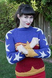 FREE Wonder Woman pattern by Natalie Bursztyn