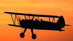 Stearman's Sunset | da Going Vertical Aviation Photography