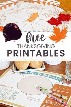 Fun & Free Thanksgiving Printables Free Thanksgiving Printables, Free Printables, Happy Turkey Day, Jokes, Activities, Fun, Crafts, Manualidades, Husky Jokes