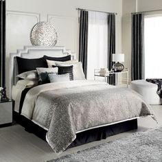 Jennifer Lopez bedding collection Jet Setter 4-pc. Comforter Set - Queen